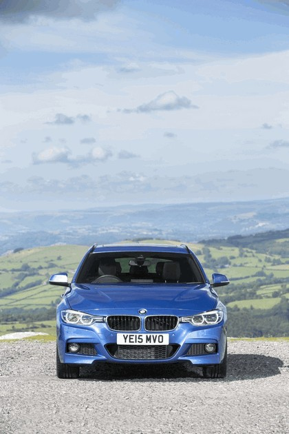 2015 BMW 330d xDrive M Sport Touring - UK version 9