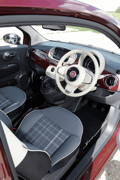 2015 Fiat 500 - UK version 44