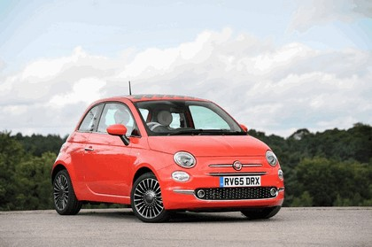 2015 Fiat 500 - UK version 116
