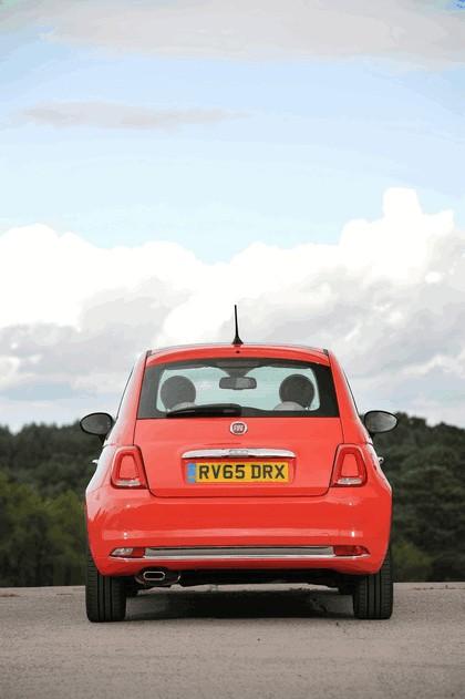 2015 Fiat 500 - UK version 124