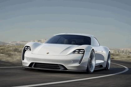 2015 Porsche Mission E concept 1