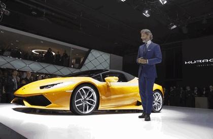 2015 Lamborghini Huracán LP 610-4 spyder 26