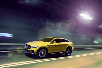 2015 Mercedes-Benz GLC coupé concept 1