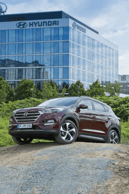 2016 Hyundai Tucson - UK version 10