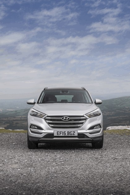 2016 Hyundai Tucson - UK version 88