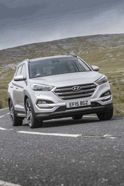 2016 Hyundai Tucson - UK version 119