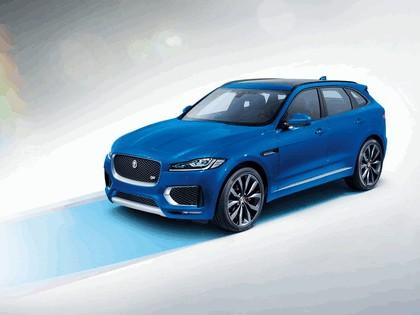 2015 Jaguar F-Pace LE S 1