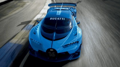 2015 Bugatti Vision Gran Turismo 9