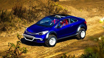 2015 Kia Forte Koup Mud Bogger concept 4