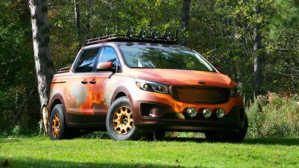 2015 Kia Sedona Photo Safari concept 1