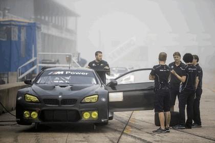 2016 BMW M6 GTLM - Sebring test session - oct 2015 5