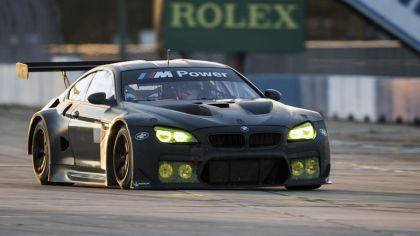 2016 BMW M6 GTLM - Sebring test session - oct 2015 3