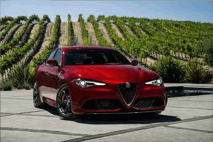 2015 Alfa Romeo Giulia Quadrifoglio - USA version 6