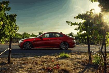 2015 Alfa Romeo Giulia Quadrifoglio - USA version 10