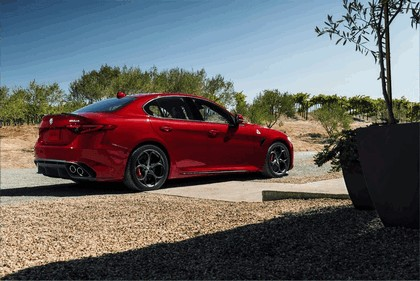 2015 Alfa Romeo Giulia Quadrifoglio - USA version 13