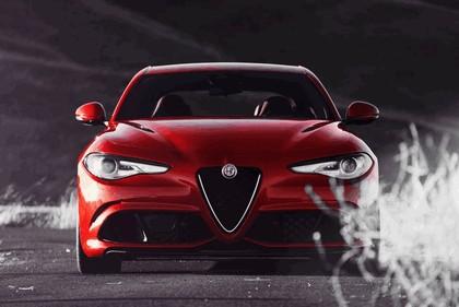 2015 Alfa Romeo Giulia Quadrifoglio - USA version 55