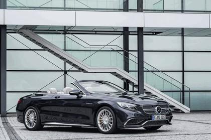 2016 Mercedes-AMG S 65 cabriolet 8