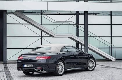 2016 Mercedes-AMG S 65 cabriolet 9