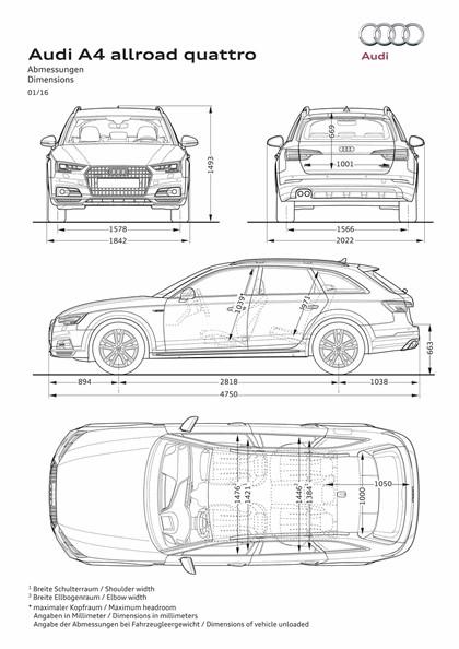 2016 Audi A4 allroad quattro 57