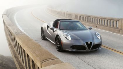 2016 Alfa Romeo 4C Spider - USA version 7