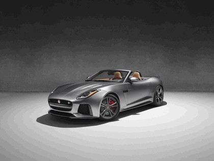 2016 Jaguar F-Type SVR convertible 1