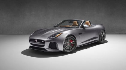 2016 Jaguar F-Type SVR convertible 3