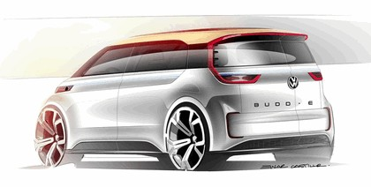 2016 Volkswagen BUDD-e concept 10