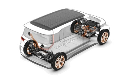 2016 Volkswagen BUDD-e concept 12