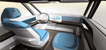 2016 Volkswagen BUDD-e concept 15