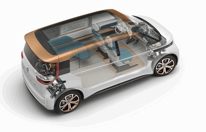 2016 Volkswagen BUDD-e concept 17