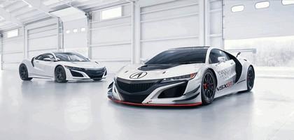 2016 Acura NSX GT3 race car 1