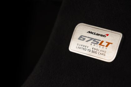 2016 McLaren 675LT spider 55