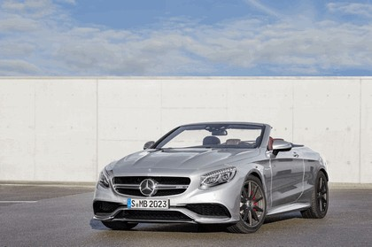 2016 Mercedes-AMG S 63 4MATIC cabriolet Edition 130 1