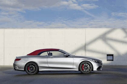 2016 Mercedes-AMG S 63 4MATIC cabriolet Edition 130 2