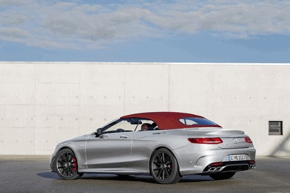 2016 Mercedes-AMG S 63 4MATIC cabriolet Edition 130 3