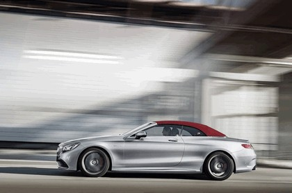2016 Mercedes-AMG S 63 4MATIC cabriolet Edition 130 4
