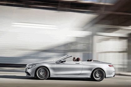 2016 Mercedes-AMG S 63 4MATIC cabriolet Edition 130 5