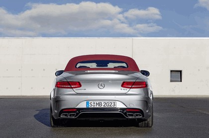 2016 Mercedes-AMG S 63 4MATIC cabriolet Edition 130 6