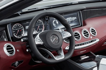 2016 Mercedes-AMG S 63 4MATIC cabriolet Edition 130 7