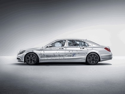 2016 Mercedes-Maybach S 600 Guard 12
