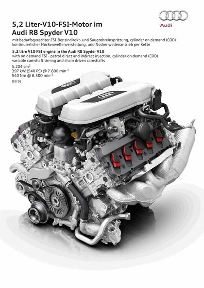2016 Audi R8 V10 spyder 43