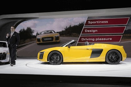 2016 Audi R8 V10 spyder 50