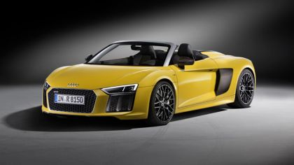 2016 Audi R8 V10 spyder 8