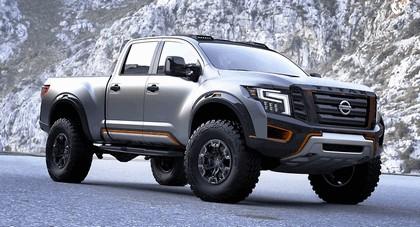 2016 Nissan Titan Warrior concept 10