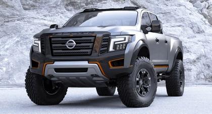 2016 Nissan Titan Warrior concept 13