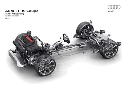2016 Audi TT RS coupé 42