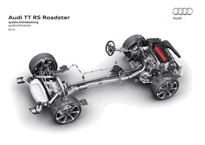2016 Audi TT RS roadster 40