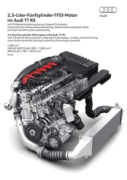 2016 Audi TT RS roadster 42