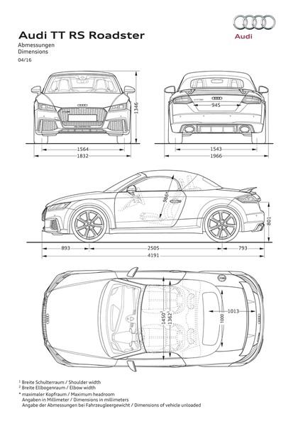 2016 Audi TT RS roadster 43