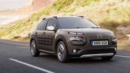 2016 Citroën C4 Cactus Rip Curl Special Edition - UK version 4
